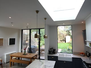 Hatcham Park Road IQ Glass UK Modern kitchen