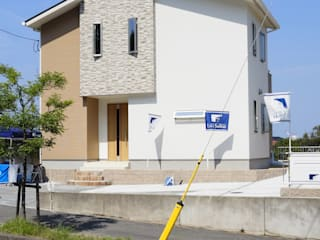 Live Sumai - アズ・コンストラクション - Modern houses