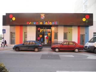 Escuela infantil Casas de estilo moderno de estudio MG arquitectura y urbanismo Moderno