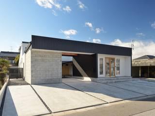 Moderne Häuser von 株式会社 竜廣設計 Modern