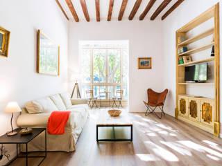 ISLABAU constructora Modern living room
