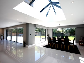 Barrington Park Gardens Modern windows & doors by IQ Glass UK Modern