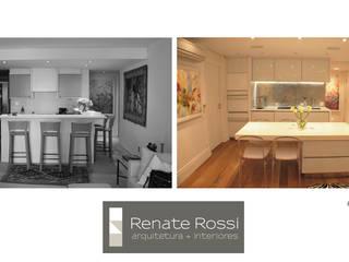 Cozinha americana:   por Renate Rossi Arquitetura + Interiores