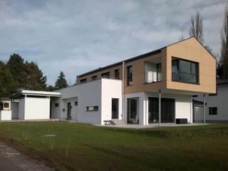 Neubau Haus S _ Oberösterreich Moderne Häuser von ATELIER WIENZEILE Tintscheff ZT-KG Modern