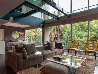 Salas de estilo ecléctico de MAAD arquitectura y diseño Ecléctico