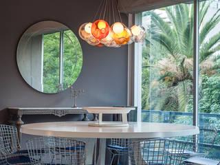 Salas de jantar  por MAAD arquitectura y diseño