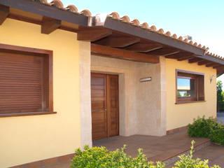 Mediterranean style houses by RIBA MASSANELL S.L. Mediterranean Stone