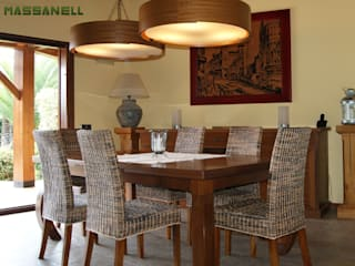 RIBA MASSANELL S.L. Dining room Wood