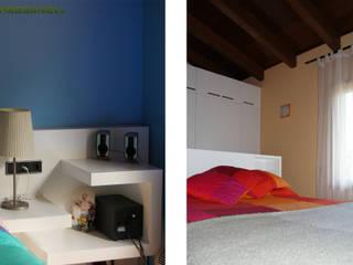 Phòng trẻ em phong cách Địa Trung Hải bởi RIBA MASSANELL S.L. Địa Trung Hải MDF