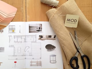 Modern Study Room and Home Office by MOD Modern