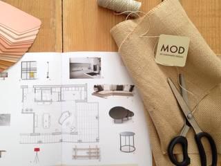 Concept: Studio in stile in stile Moderno di MOD