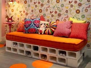Jara y Olmo S.L Living roomSofas & armchairs Bricks Multicolored