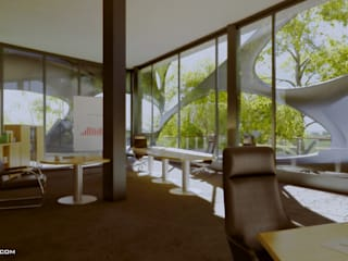 arquitecto9.com Modern Study Room and Home Office