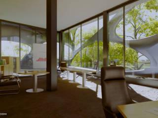 Oficinas arquitecto9.com Estudios y despachos modernos