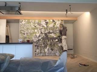 LTAB/LAB STUDIO 現代廚房設計點子、靈感&圖片