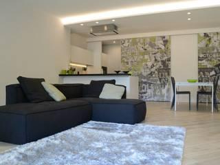 Wohnzimmer von LTAB/LAB STUDIO