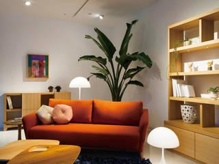 株式会社高岡 Living roomAccessories & decoration Textile Orange
