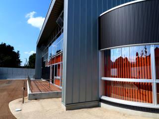 クオリティーライフ リハビリセンター モダンな医療機関 の 設計工房 A・D・FACTORY 一級建築士事務所 モダン