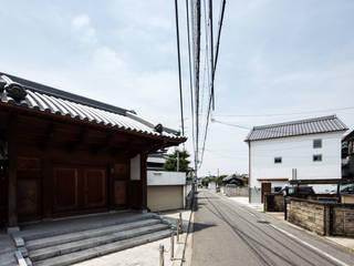 ガレージ蔵: 橋本健二建築設計事務所が手掛けた家です。