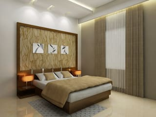 Bedroom Interior:   by SquareDrive Living Spaces