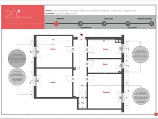 Stato di fatto: Case in stile  di Architetto Gloria Quartieri