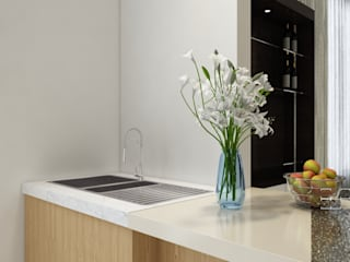 Singh Residence Modern kitchen by Space Interface Modern