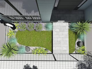 Penta Proje – ERKAN KONUTU: modern tarz Bahçe