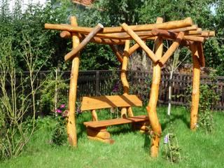 Rheber Holz Design Garden Furniture Wood Amber/Gold