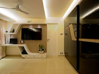 RESIDENTIAL PENTHOUSE INTERIORS Modern style bedroom by AIS Designs Modern