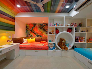 RESIDENTIAL PENTHOUSE INTERIORS Modern nursery/kids room by AIS Designs Modern