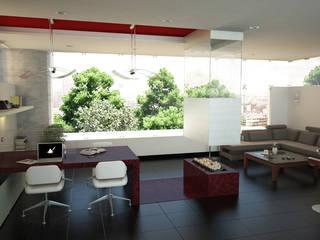 Lápiz De Sueños Ruang Studi/Kantor Modern