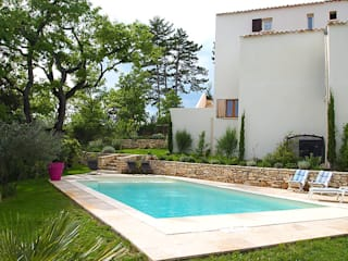 La piscine en Béton 100% armé Oplus piscines Piscine méditerranéenne
