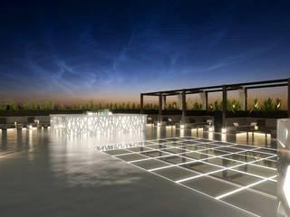 Restaurante Japão: Bares e clubes  por DRCF Arquitectos,Industrial