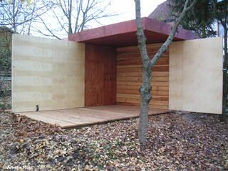 Garage / Hangar modernes par Rost.Niderehe Architekten I Ingenieure Moderne