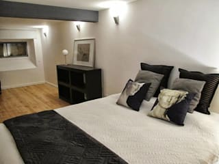 Industrial style bedroom by DRCF Arquitectos Industrial