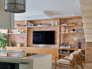 Cobertura Ipanema Cozinhas modernas por Paula Libanio Arquitetura Interiores Moderno
