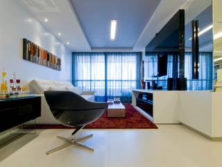 APto 160m Salas de estar clássicas por Allysandra Delmas - Arquitetura e Interiores Clássico