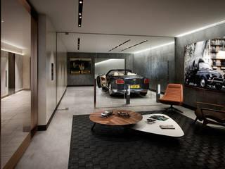 Folio Design | The Cricketers | Car Room Modern garage/shed by Folio Design Modern