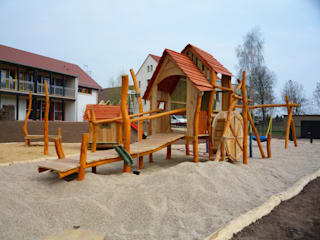 """Themenspielplatz """"Alte Mühle"""":   von Rheber Holz Design"""