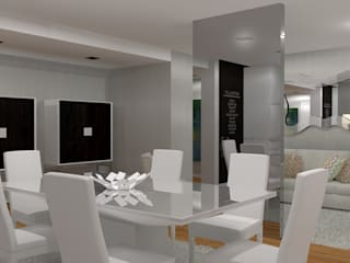 Dining room by Macedo Barbosa Interiores, Modern