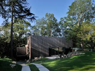 yann péron architecte Casas de estilo moderno