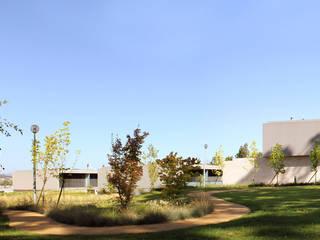 JARDIM PRIVADO DE URBANIZAÇÃO - MAIA: Jardins modernos por Oh!land studio, lda