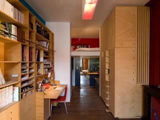 REHABILITATION D'UN APPARTEMENT yann péron architecte Chambre moderne