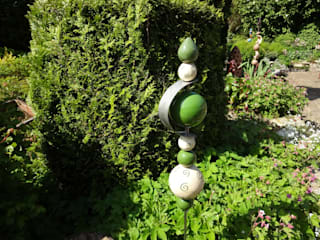 Eclectische tuinen van Carolas Töpferlädchen Eclectisch
