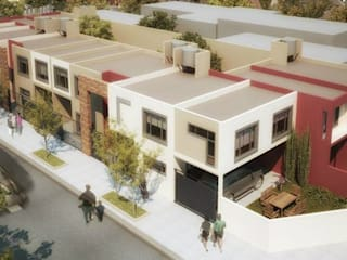 Casas modernas por Silvana Valerio Moderno
