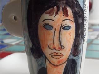 Donna dagli occhi blu (1918).:  in stile  di Francesca Casale