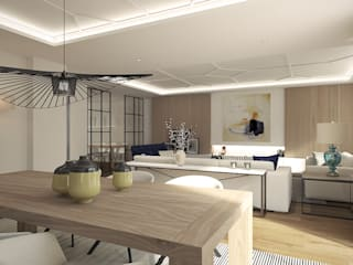 Dining room by Disak Studio , Modern