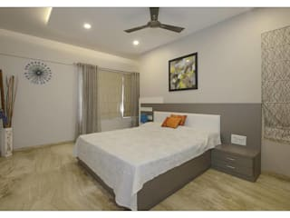 Jaiswal, Pune Modern style bedroom by CK Interiors Pvt Ltd Modern