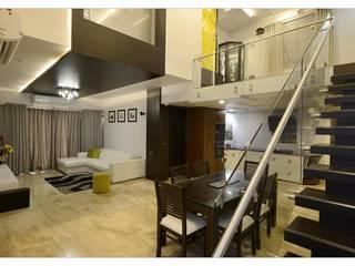 Jaiswal, Pune Modern living room by CK Interiors Pvt Ltd Modern