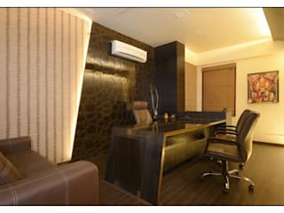 Pune Site:  Study/office by CK Interiors Pvt Ltd